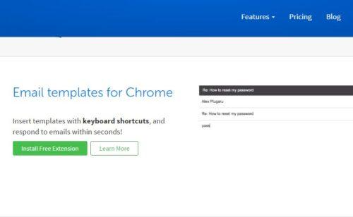 Gorgias   extension Chrome créer templates d'emails