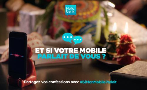#SiMonMobileParlait   Hello bank  We Are Social font parler mobile Twitter
