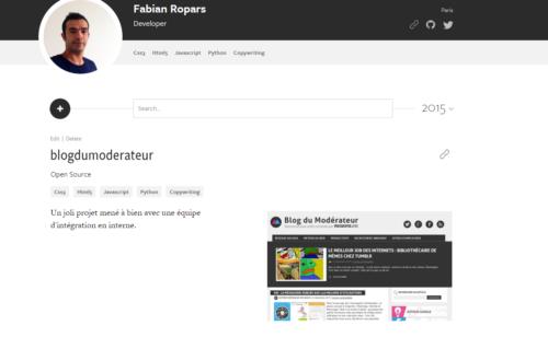 MakerSlate   CV ligne dédié développeurs designers