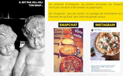 Étude Snapchat   état lieux  bonnes pratiques  usages…