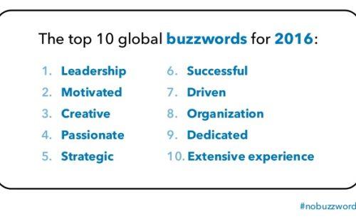 top 10 buzzwords inutiles profils LinkedIn