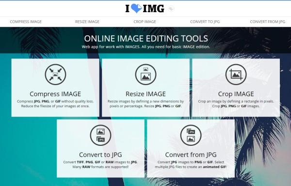 Iloveimg Un Site Pour Compresser Convertir Redimensionner Et Rogner Toutes Vos Images Bdm