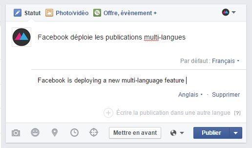 facebook en francais