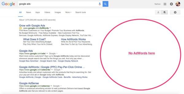 no-adwords-google