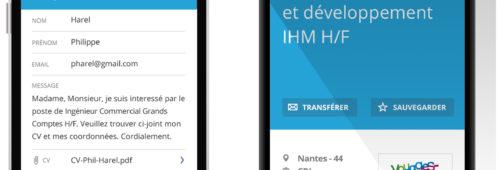RegionsJob   candidatures forte hausse grâce nouveautés l'application mobile
