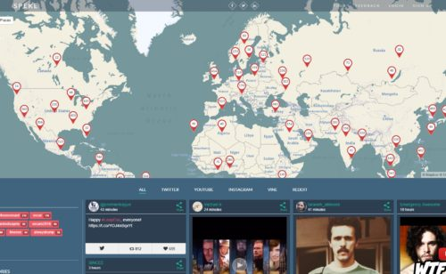 Speke   outil visualiser tendances réseaux sociaux posts populaires