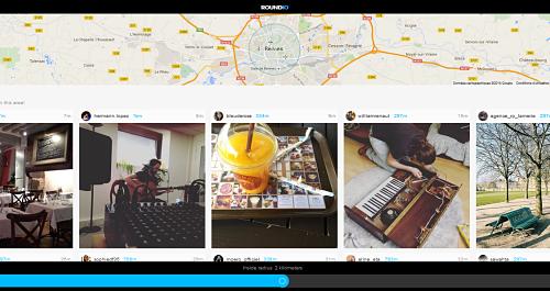 Roundio   découvrez photos gens postent autour Flickr Instagram