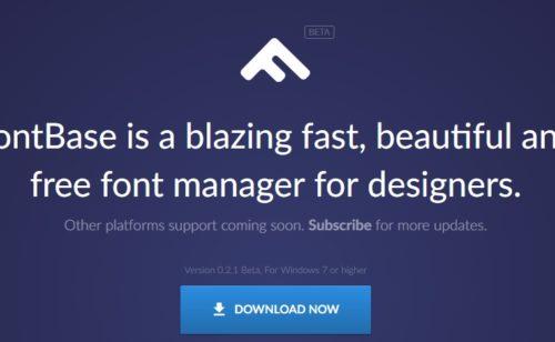 FontBase   gestionnaire polices caractères gratuit