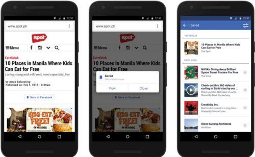 Nouveautés annoncées Facebook F8   bots Messenger  VR  vidéo  bouton enregistrer  partage citations…