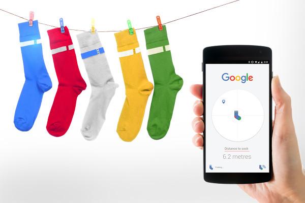 google-chaussettes