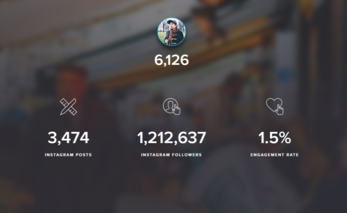 Influence   outil mesurer popularité comptes Instagram