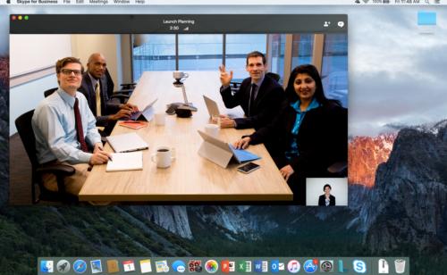 Skype Entreprise arrive enfin Mac