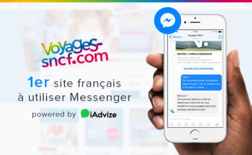 Décryptage   comment iAdvize intègre voyages-sncf.com Facebook Messenger