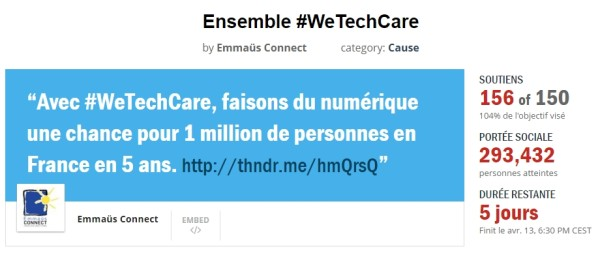 wetakecare-thunderclap