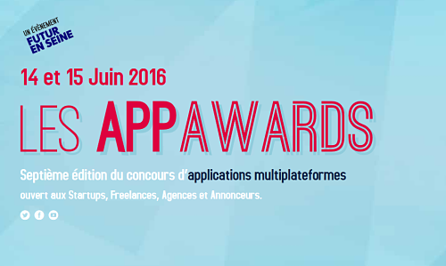 Appawards   route 7ème édition concours d'applications multiplateformes