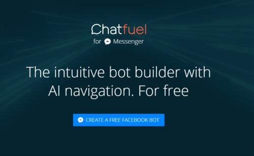 Chatfuel   outil ligne gratuit créer bot Facebook simplement