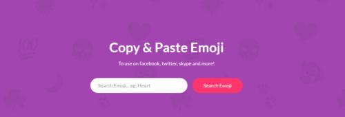 EmojiRepo   moteur recherche emojis desktop