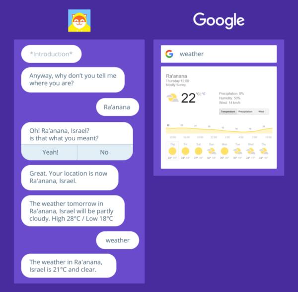 chatbots-google-meteo