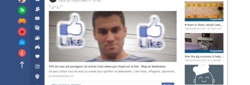 Flatbook   Facebook  plus joli  sans publicité