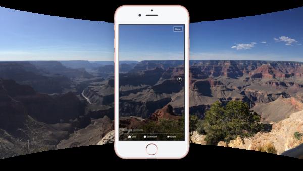 Facebook : les photos à 360° sont disponibles