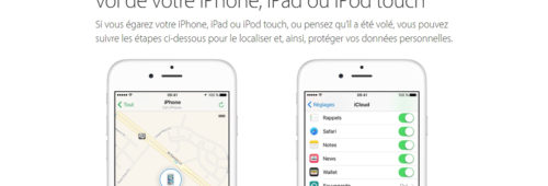 Comment localiser iPhone perdu volé