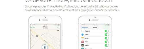 Comment localiser iPhone perdu volé