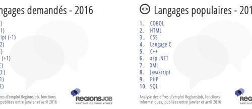 Développement web   métiers  compétences langages populaires (côté candidat recruteur)