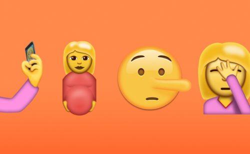 Découvrez 72 nouveaux emojis   selfie  clown  avocat  face palm  bacon  ¯\_(ツ)_/¯…
