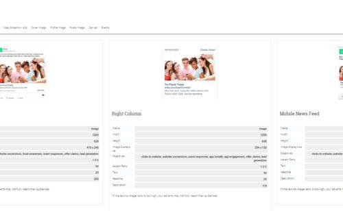 Adsvise   toutes tailles publicités réseaux sociaux