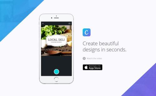Canva  l'app création d'images réseaux sociaux  est disponible iPhone