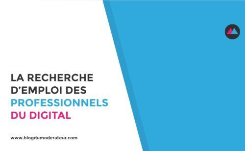 recherche d'emploi professionnels digital