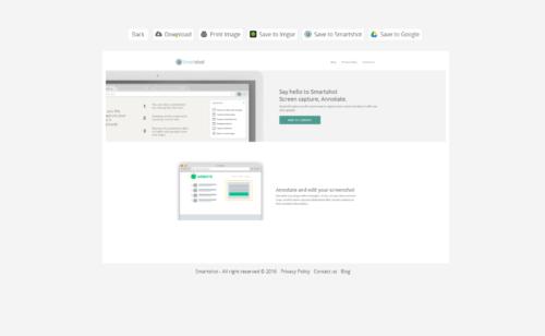 Smartshot   l'extension Chrome parfaite captures d'écran