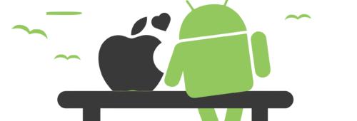 Android iOS c'est 99% marché systèmes d'exploitation mobile