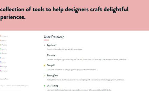 Sans Francisco   sélection complète meilleurs outils web