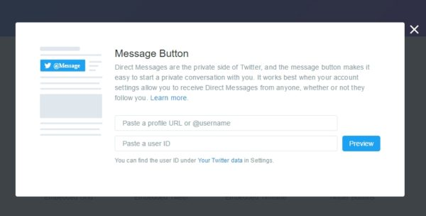 twitter-message
