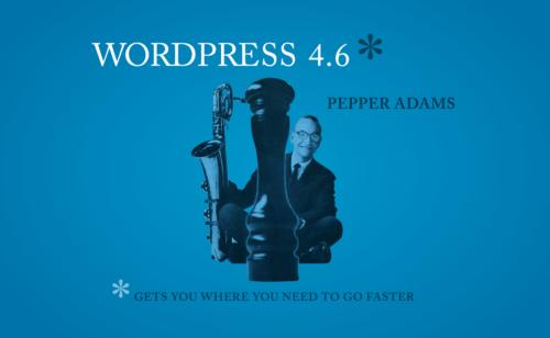 WordPress 4.6 est disponible   liste nouveautés