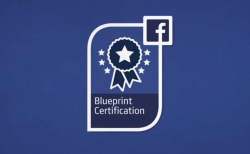 Vous pourrez bientôt devenir professionnel certifié Facebook  mention Achat Planification