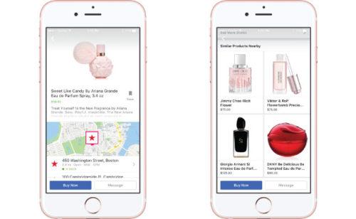 Facebook lance publicités dynamiques connecter l'inventaire physique publicités