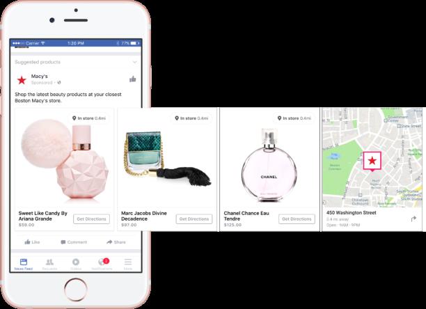 Facebook lance des publicités dynamiques pour connecter l'inventaire physique aux publicités