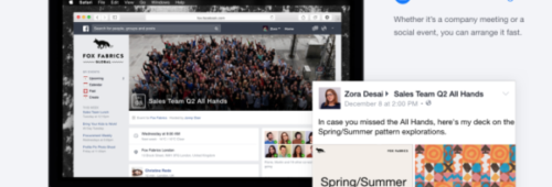 Facebook at Work   lancement imminent