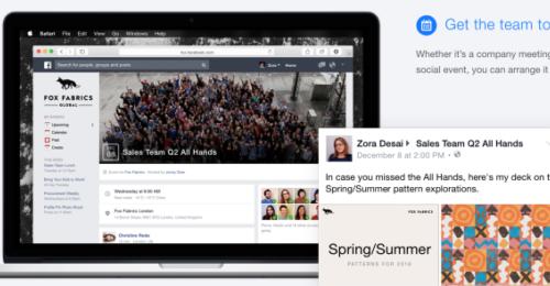 Facebook at Work   lancement imminent