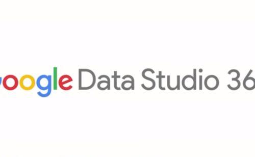 Google Data Studio est disponible France