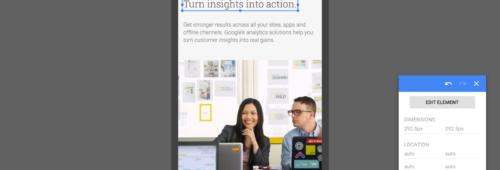 Google Optimize   outil d'A/B testing personnalisation connecté Google Analytics
