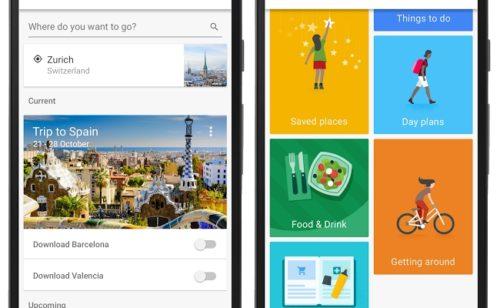 Google Trips   application organiser voyages
