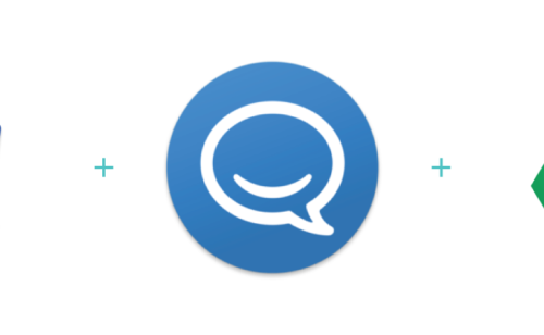 Google Drive Agenda intégrés HipChat