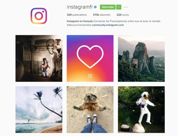 Pouvez-vous vous présenter et nous en dire plus sur votre rôle pour  Instagram   3cddb2bcb70c