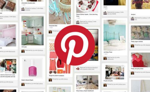 Où est Pinterest marché français