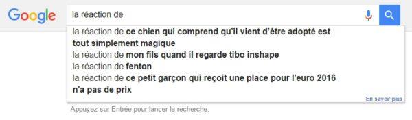 reaction-google