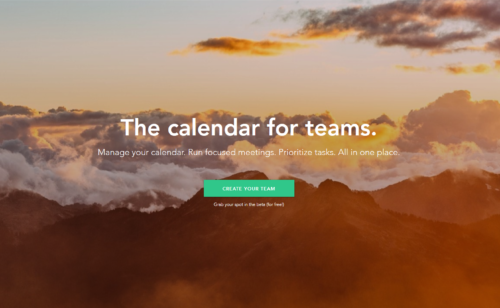 Sunsama   calendrier complet travail équipe