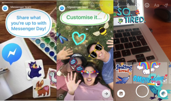 Facebook Messenger Day : la copie conforme des stories Snapchat
